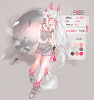 { OC } eos' reference by vanitaes