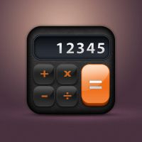 Calculator Icon by junoteamvn