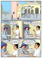 Fairy in the Sun page 1 by SakkeM