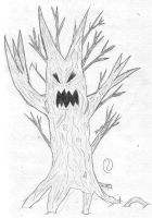 Evil Tree by DanielTheDementedOne