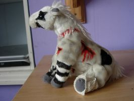 Another customised goth plush by Steph-Sama