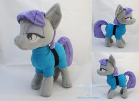 Maud Pie Plush and Pattern Available by dollphinwing