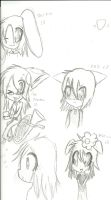 Pkw Sona Anthro scribbles. by Symphonicheart
