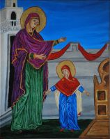 First steps: Theotokos by CodyVBurkett