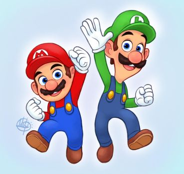 Super Mario Bros by LuigiL