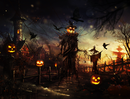 scarecrows by vito-scaletta