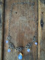 Opalite Fairymail Necklace by FaerieForgeDesign