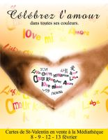 Affiche St-Valentin by cawo