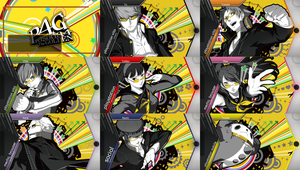 PS Vita - Persona 4 Golden Theme Pack by RaveNScythE18