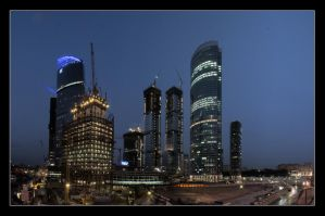 Moscow City 2 by Sarumian3000