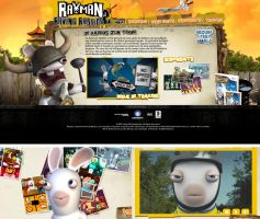 Rayman Raving Rabbits 2 by dsdesign