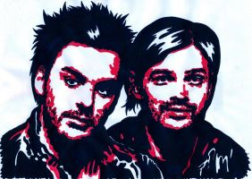 30STM - Shannon and Tomo by weedenstein