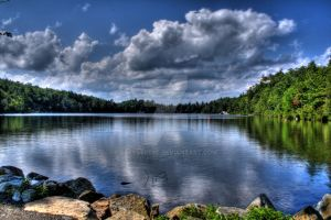 Minnewaska Lake HDR by greystre3t