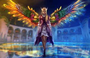Cleric by MissQualle