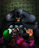 "Batman ""The last Laugh"" by commanderlewis"