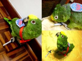 Parrot Link xD by Amaterasumikami