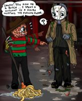 Not Freddy's day.... by fellow-traveller