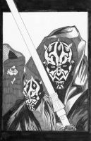 Darth Maul by JLillustrator