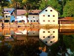 River reflections at the mill by patrickjobst