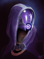 Mass Effect: Tali'Zorah vas Normandy by ruthieee