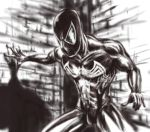 black suited spidey by TuaX