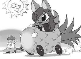 BDAY, My Adorableness gives me Super Speed! by Toughset