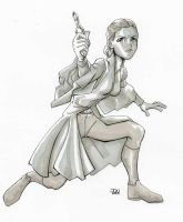 Padme the Handmaiden by Variable-Edge