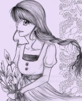 calla lily by theredsnowflake