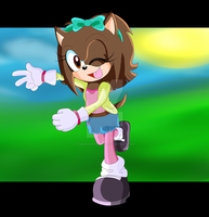 Georgia The Hedgehog Art Trade by AmaranthPaws