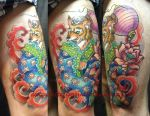 Tattoo - Fox in the Heaven by Xenija88