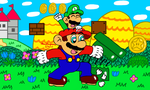 New Super Mario Bros DS by MarioSimpson1