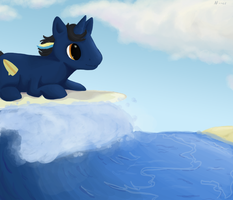 Surf's Up by sprinklestar