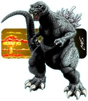 Godzilla - Atom-Age Monster by corvus1970