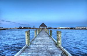 The Green Dock by Enkased