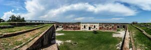 Fort Pike (Pano) II by Deoradhain