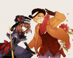 The Cowboy and the Witch by PsychoShionSonozaki