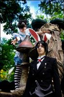 Ciel in Wonderland: Chasing the White Rabbit by general-kuroru