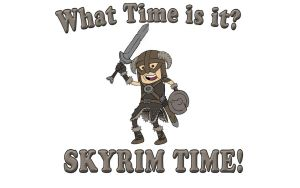 Skyrim Time by AIBryce