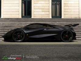 Lamborghini-SuperStradale by Morfiuss