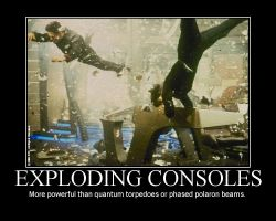 Exploding Consoles by ThunderBreak