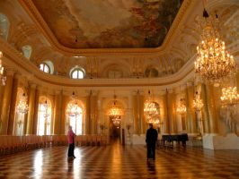 The golden room by Agatje