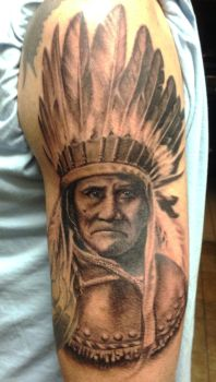 Geronimo by EricNobleArt