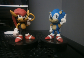 Sonic And Mighty Models by FierceTheBandit