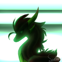 Neon (thanks) by SolarPaintDragon