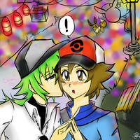 N and Blacks Magical Date by kyotoxo1