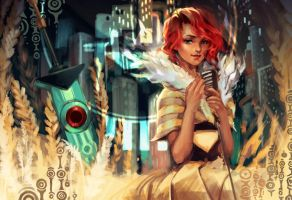 Transistor - Past, Present, Future, All Become One by lucidsky