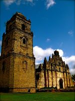 Paoay Church Colored by milesgore