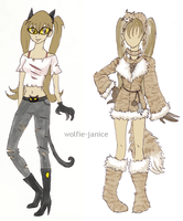 Kitten Designs by wolfie-janice