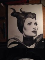 Maleficent by BrittanyAnnxOx