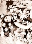 me with plushies by polpolina